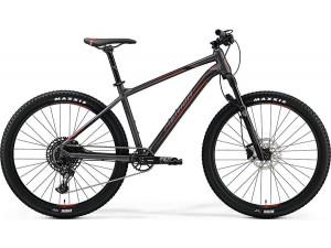 "Велосипед Merida Big Seven 600 MattDarkSilver/Black/Red 2019 L(19"")(90499)"