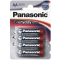 Батарейки Panasonic LR6EPS/4BP RU AA щелочные Everyday Power в блистере 4шт