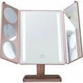 Зеркало с подсветкой складное Gess uLike Gold