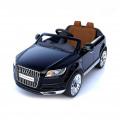 RT Audi Q7 - детский электромобиль черный