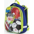 Ранец Brauberg Premium с брелком, Супер-мячи, 38х29х18 см, 227822