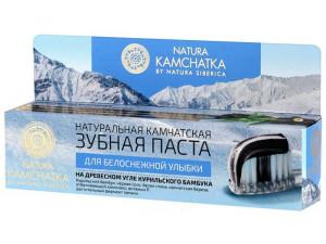 Natura Kamchatka Зубная паста Камчатская для белоснежной улыбки 100мл
