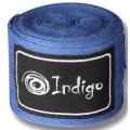 Бинт боксёрский Indigo 1115 2,5 м Синий