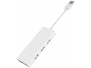 Адаптер Xiaomi multi-adapter USB 3.0/Micro-USB/Gigabit Ethernet белый