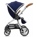Egg Stroller - прогулочная коляска Regal Navy & Mirror Chassis