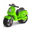 Каталка-мотоцикл беговел Скутерзеленый