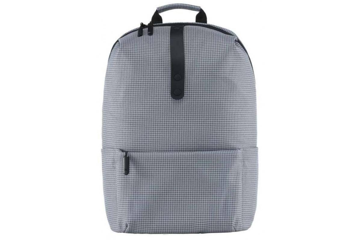 """Рюкзак Xiaomi College Style Backpack Polyester Leisure Bag для ноутбуков до 15"""" серый"""