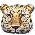 Подушка декоративная Худжанд рельефная с фотопечатью Леопард