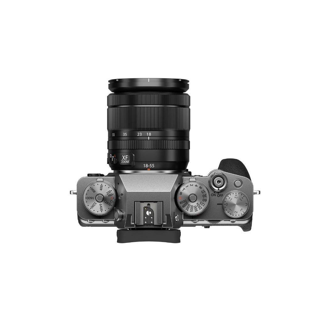 Фотоаппарат Fujifilm X-T4 Kit XF 18-55mm f/2.8-4.0 серебро