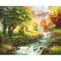 Schipper Горная река - раскраска по номерам, 40х50 см