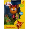 Пластиковая игрушка 1TOY Три кота Карамелька 14.3 см,со звуком