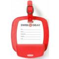 Бирка для багажа Swissgear, красная, 10,5x0,4x10,5 см