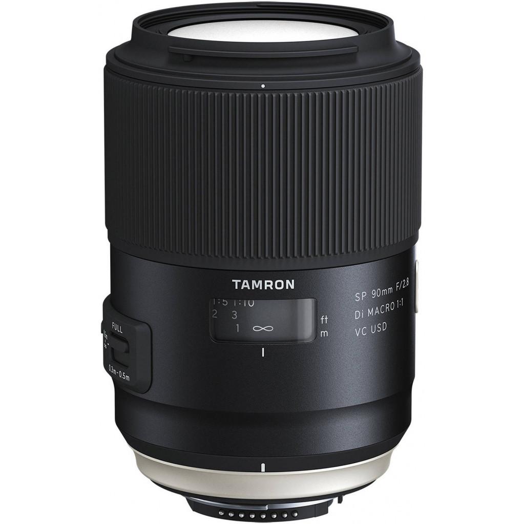 Tamron SP 90mm F/2.8 Di MACRO 1:1 VC USD Canon EF