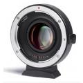 Адаптер Viltrox EF-FX2 Speed Booster для объективов Canon EF на байонет Fuji X-mount