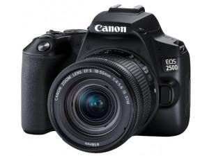 Зеркальный фотоаппарат Canon EOS 250D Kit 18-55 IS STM черный