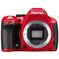 Зеркальный фотоаппарат Pentax K-50 body красный