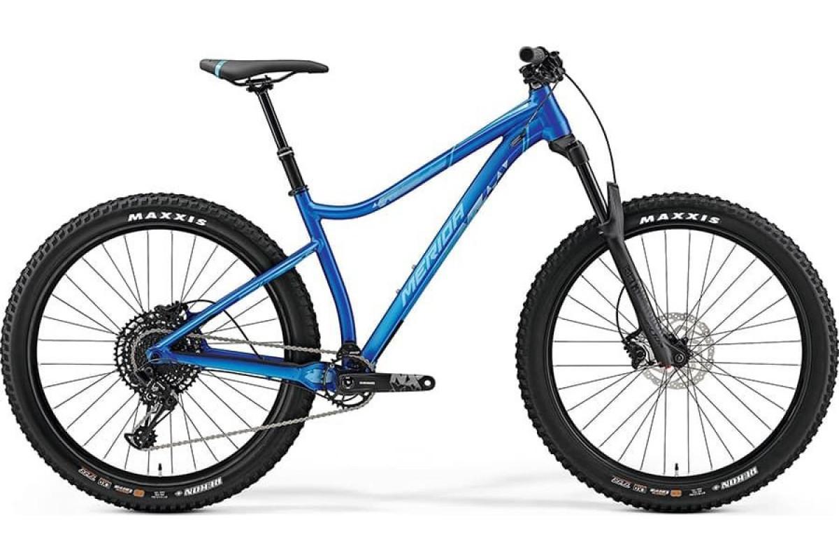 """Велосипед Merida Big.Trail 600 SilkBlue/Blue 2019 XL(21"""")(89481)"""