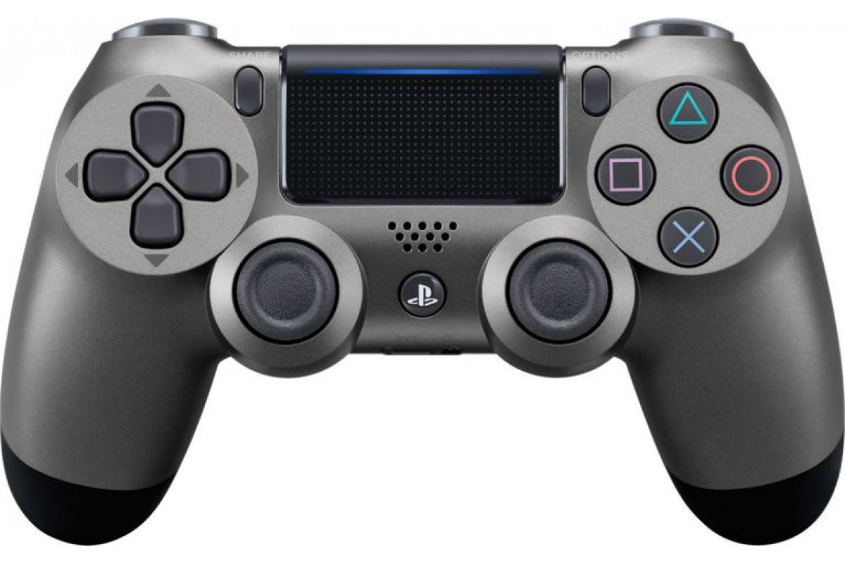 Геймпад Sony Dualshock 4 (ver.2), steel black
