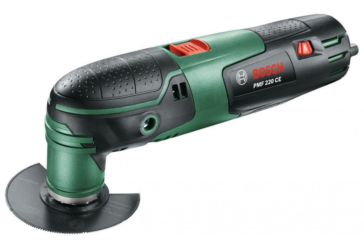 Многофункциональный инструмент Bosch PMF 220 CE (0.603.102.020)  220Вт 15000-22000об/мин 1.1кг