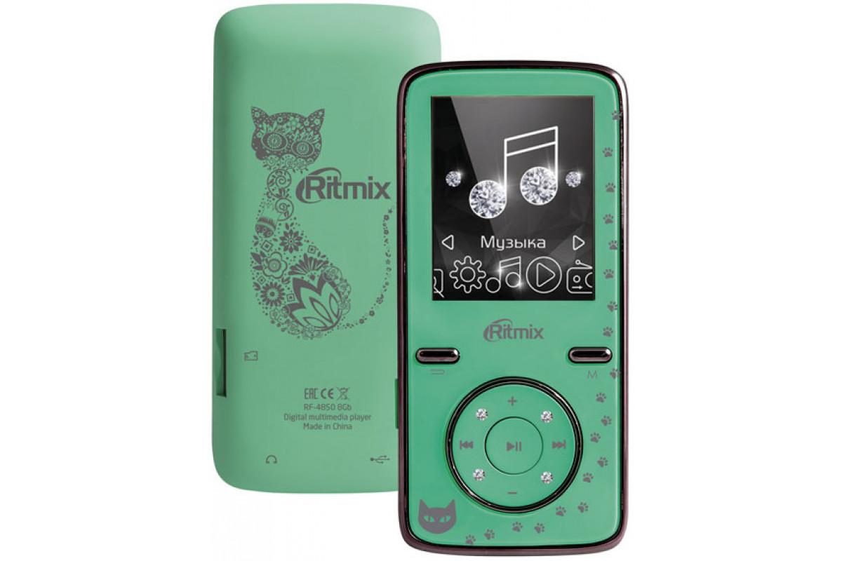 Плеер Ritmix RF-4850 8Gb Mint
