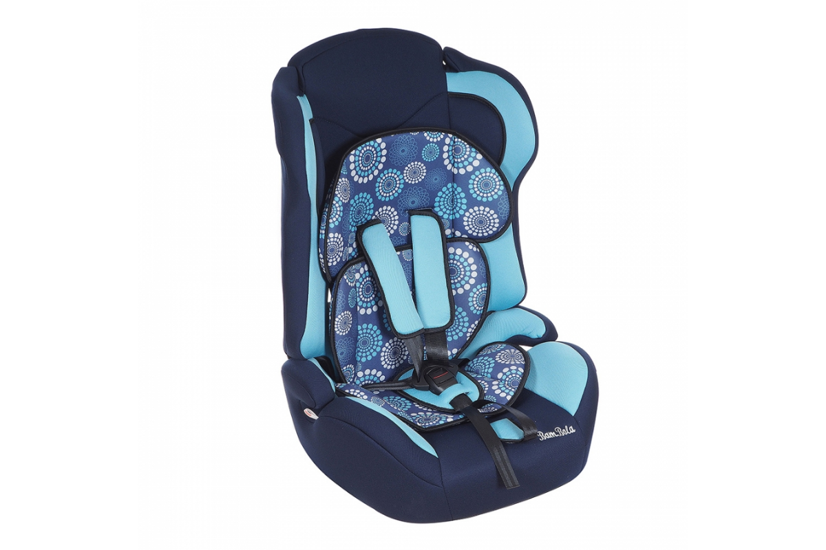 BamBola Primo - детское автокресло 9-36 кг одуванчик сине-бирюзовый