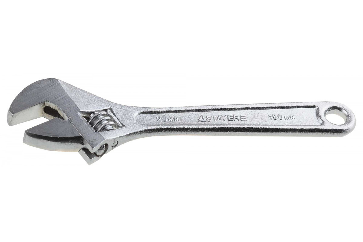 Ключ разводной STAYER 150 / 20 мм