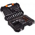 Набор инструментов КРАТОН TS-22  socket 120, 1/4''+3/8''+1/2''