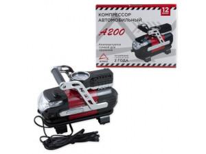 Компрессор автомобильный 140 Вт 30 л/мин c LED фонарем ARNEZI A200
