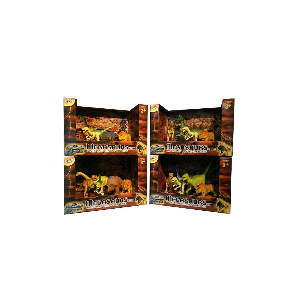 HGL Набор динозавров (5 диноидерево) в асс