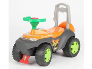 Tolocar Каталка детская с отделением для игрушек (оранж)