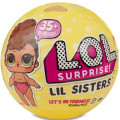 Кукла-сюрприз MGA Entertainment в шаре LOL Surprise Lil Sisters PDQ Wave 1