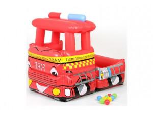 Upright Сухой бассейн пожарная машина с шариками