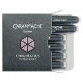 Carandache Чернила (картридж), фиолетовый, 6 шт в упаковке