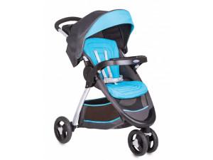 Graco Fastaction Fold - прогулочная коляска серо-голубая