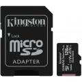 Карта памяти Kingston microSDXC Canvas Select Plus Class 10 UHS-I U1 (100/10MB/s) 128GB + ADP
