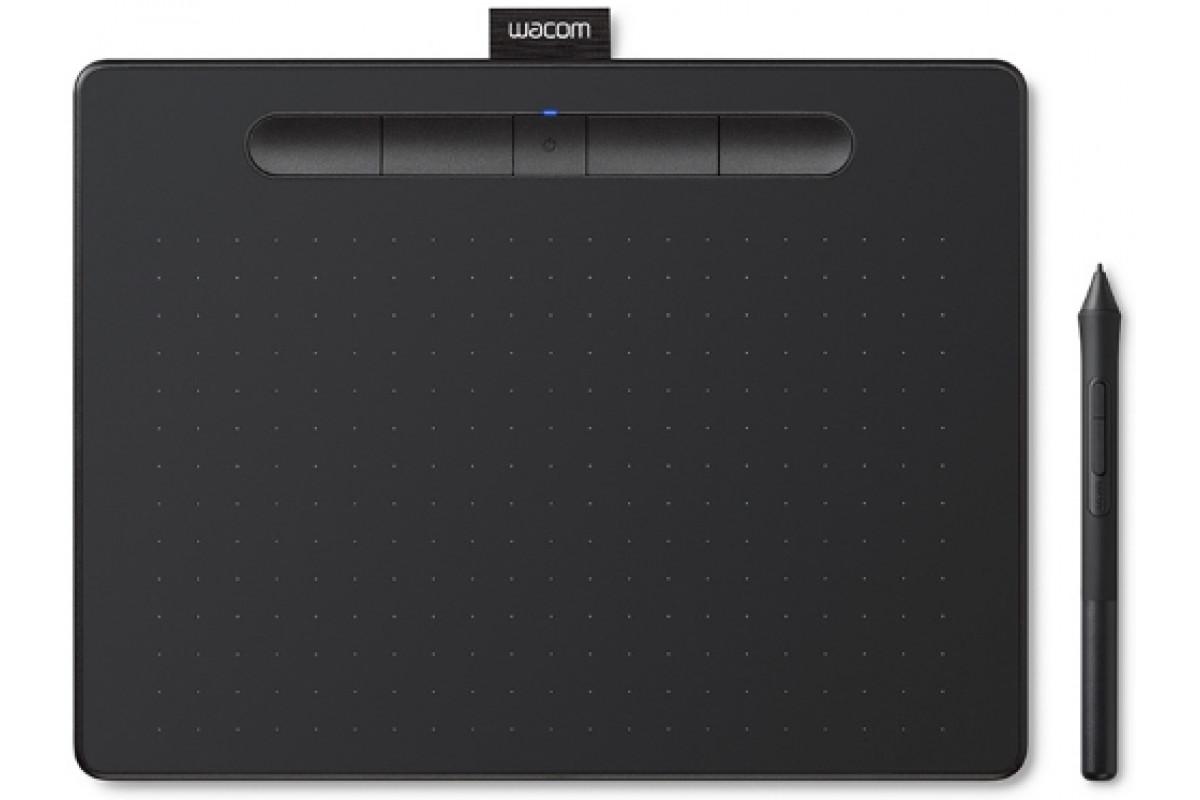 Графический планшет Wacom Intuos Bluetooth Small (CTL-4100WLK-N), черный