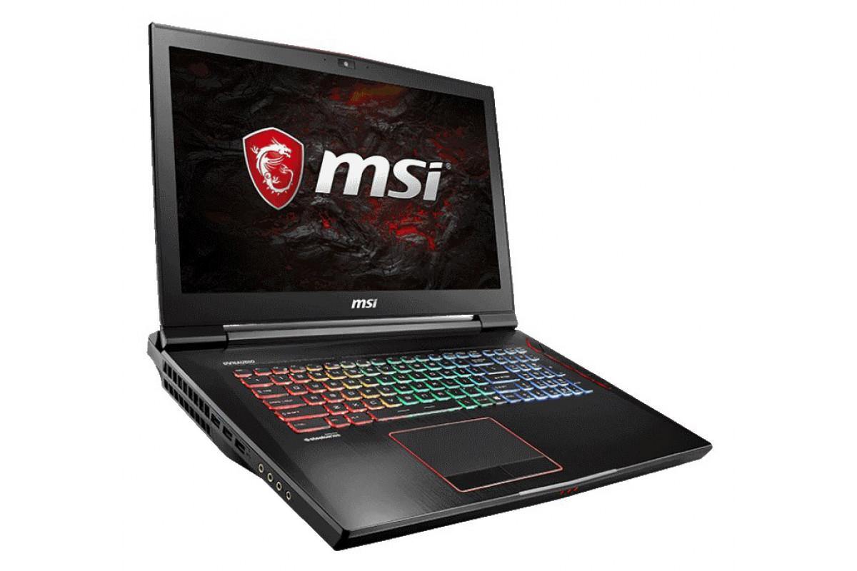 Ноутбук MSI GT73EVR 7RE(Titan)-856RU (MS-17A1)  17.3'' FHD(1920x1080) nonGLARE/Intel Core i7-7700HQ 2.80GHz Quad/16GB/1TB+128GB SSD/GF GTX1070 8GB/HM
