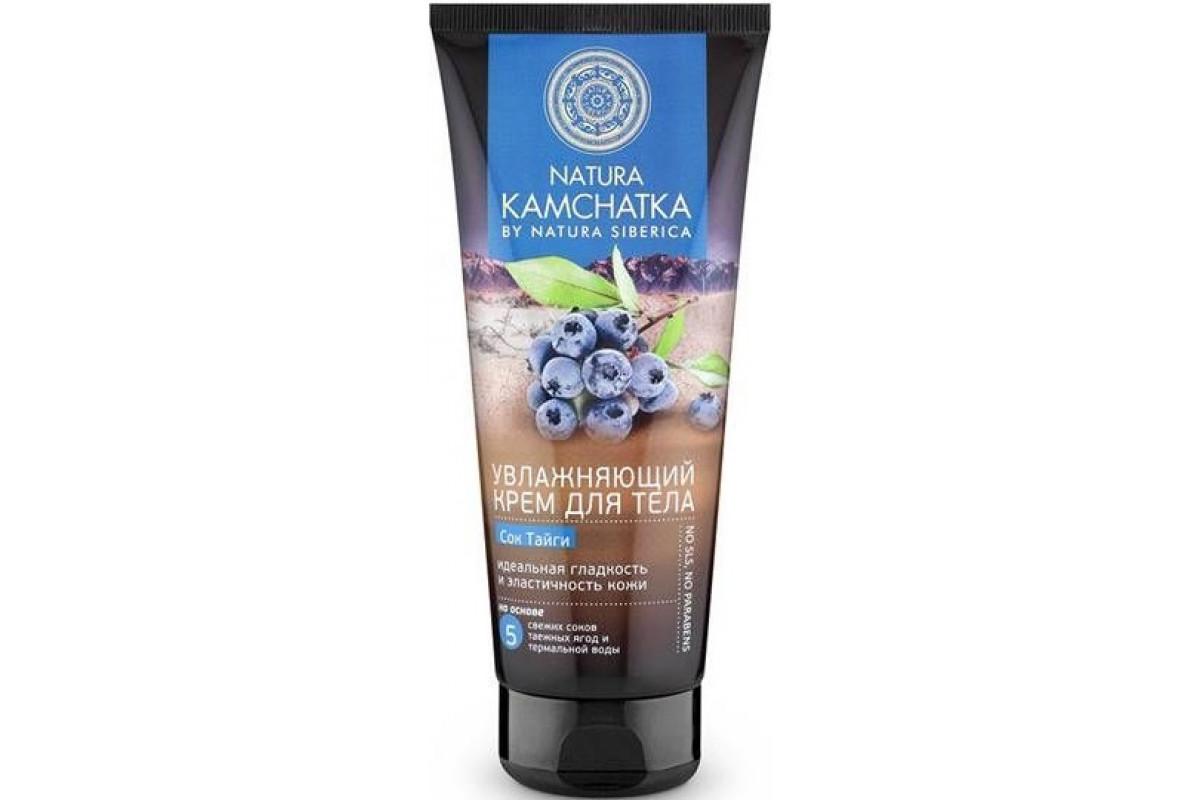 Natura Kamchatka Крем для тела Сок тайги Идеальная гладкость и эластичность кожи 200мл