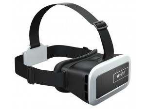Очки виртуальной реальности Hiper VR VRM черный/белый