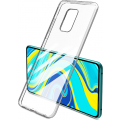 Чехол для смартфона Xiaomi Redmi Note 9S/9 Pro Silicone iBox Crystal (прозрачный), Redline
