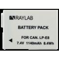 Аккумулятор Raylab RL-LPE8 1140мАч