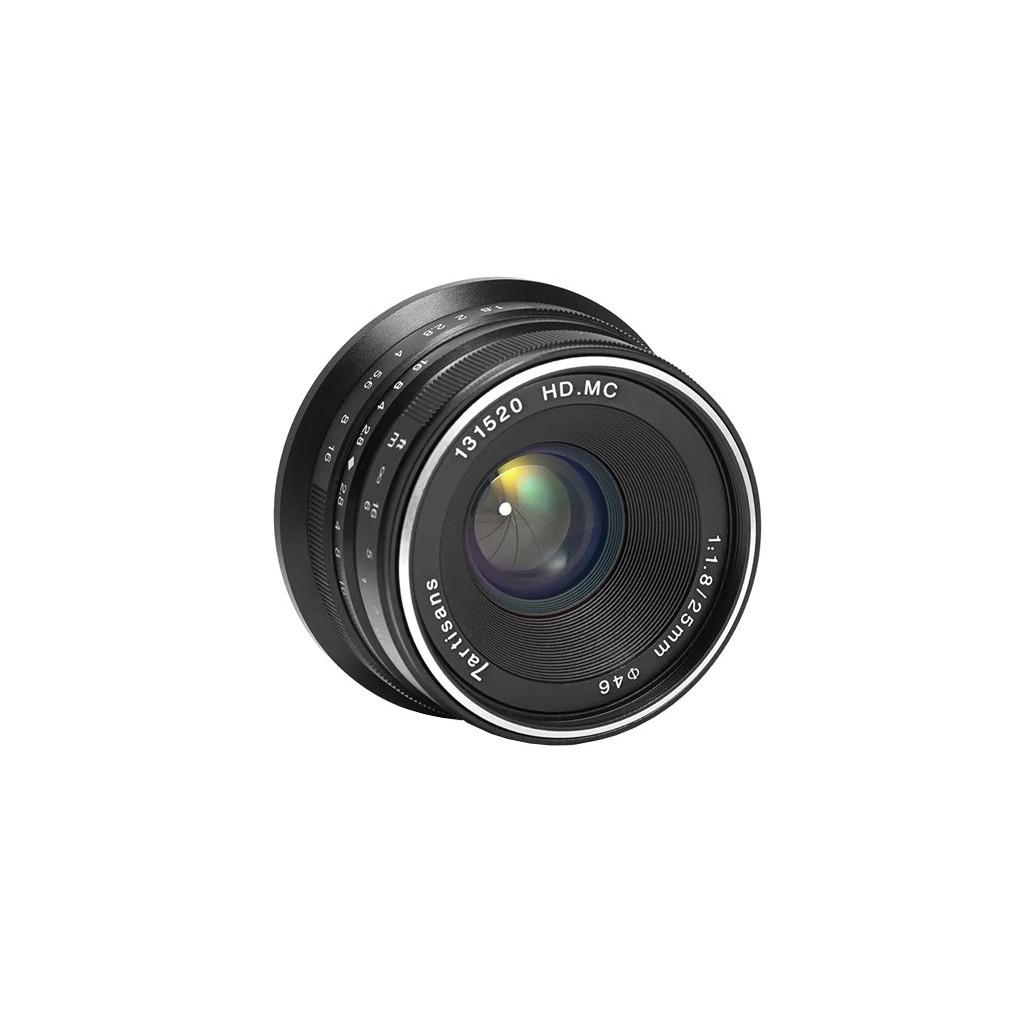 Объектив 7Artisans 25mm F1.8 Fujifilm X черный