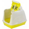 Био-туалет Moderna Flip Cat 50x39x37h см с совком, желтый