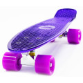 Hubster Cruiser 22 Metallic Пенни борд purple