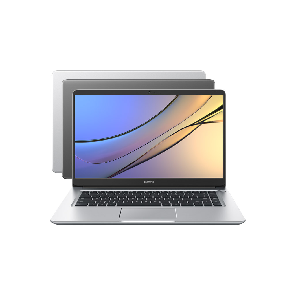 "Ноутбук Huawei MateBook D Marconi-W10B 15,6"" (Intel Core i5 8250U 1600 MHz/1920x1080/8Gb/256Gb SSD/Intel UHD Graphics 620/Win10 Home) серебристый"
