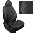 """Автомобильные чехлы """"Автопилот"""" Ромб для Volkswagen Jetta VI c 11г. Черный + Черный"""