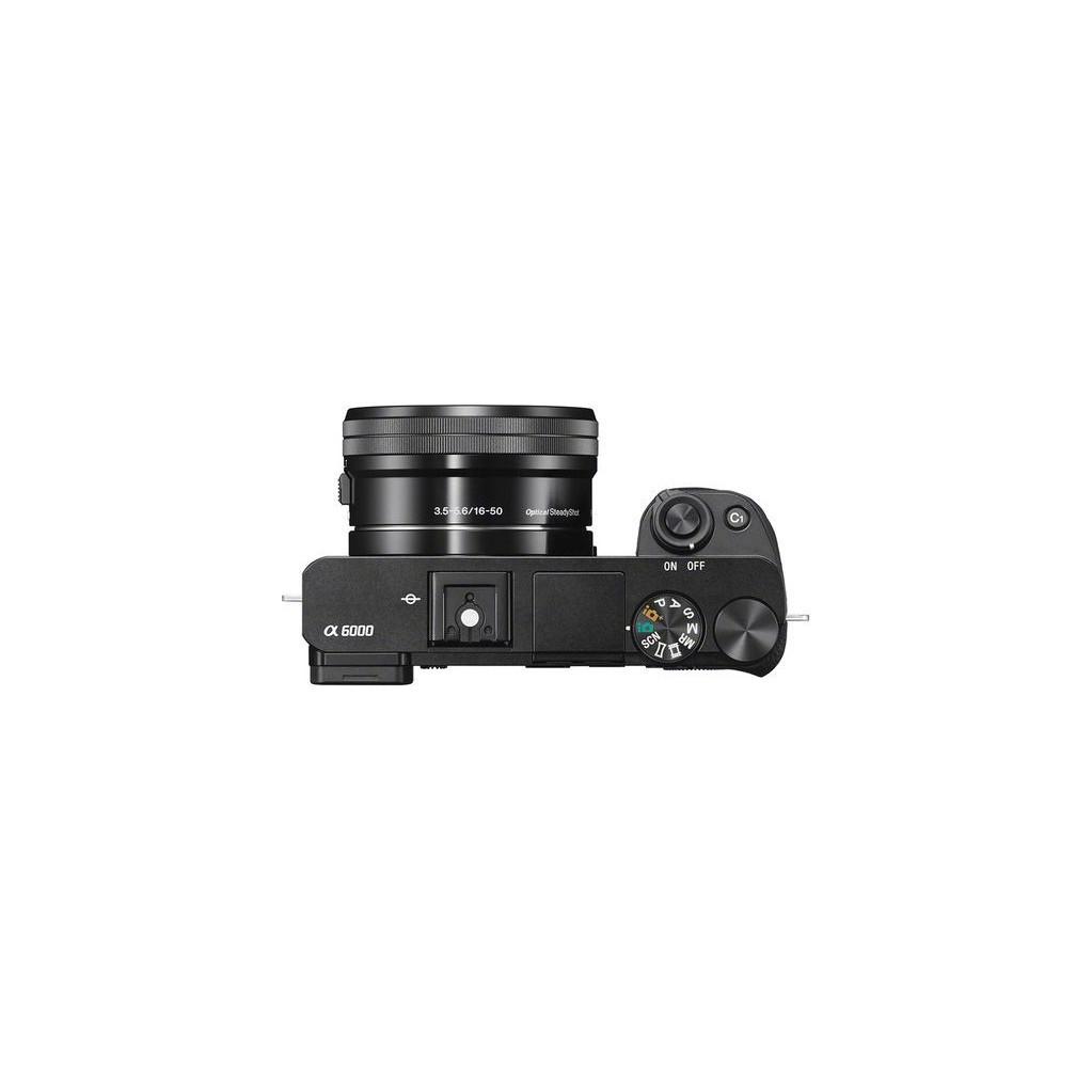 Фотоаппарат Sony Alpha A6000 kit 16-50 f/3.5-5.6 OSS, черный (