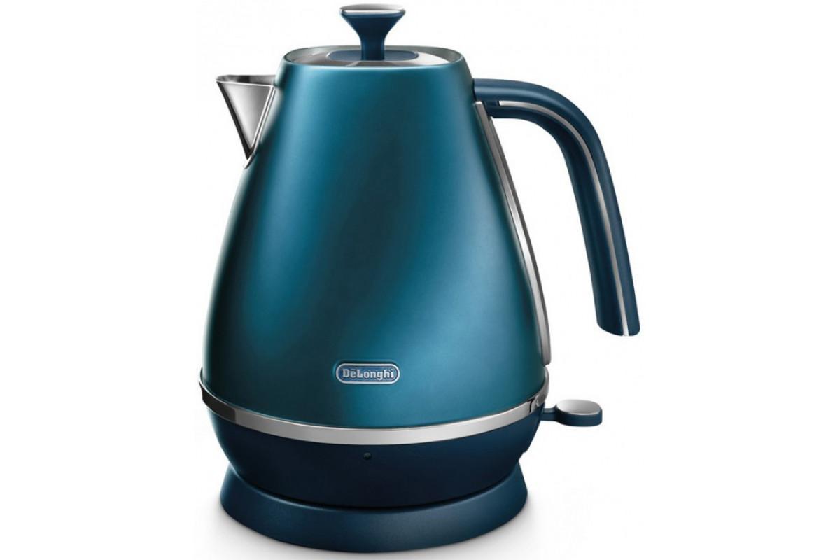 Чайник DeLonghi KBI 2001.BL синий