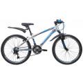 """Велосипед Novatrack 24"""" Lumen 13"""", серебристый 24AHV.LUMEN.13SL9"""