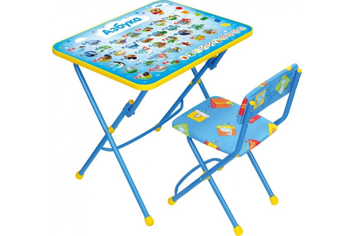Набор мебели Ника Азбука (стол с мягким стульчиком) КП29